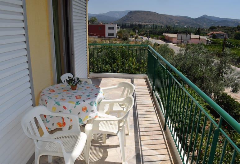 Apartments Rania, Nafplio, Apartment, 2 Bedrooms, Balcony