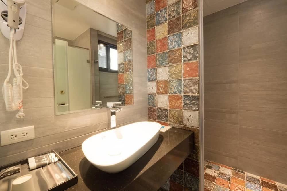 Double Room, Patio - Bilik mandi