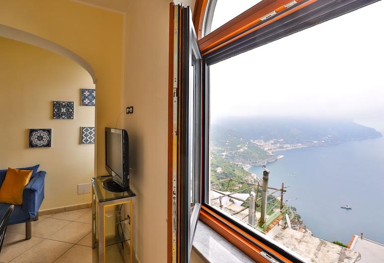 Iolanda Apartment, Ravello, Apartamento, 1 Quarto, Vista do quarto