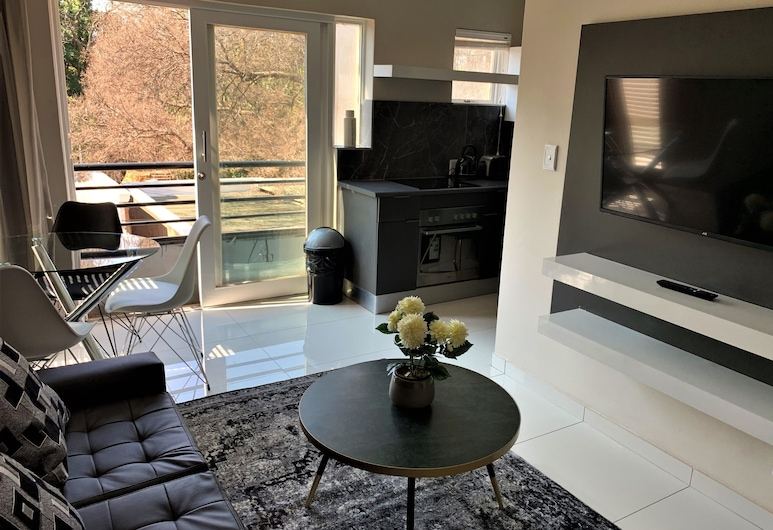 The Reserve, Sandton, Luxury Apartment, Living Area