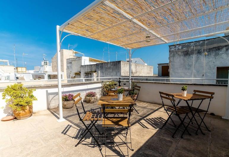Dimora Nicoletta, Monopoli, Appartamento, 1 camera da letto (Terra), Terrazza/Patio