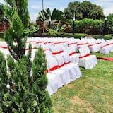 พื้นที่จัดงานแต่งงานกลางแจ้ง