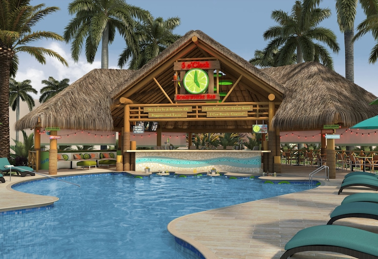 New Margaritaville Island Reserve Riviera Cancun - All Inclusive by Karisma, Puerto Morelos, Poolside Bar