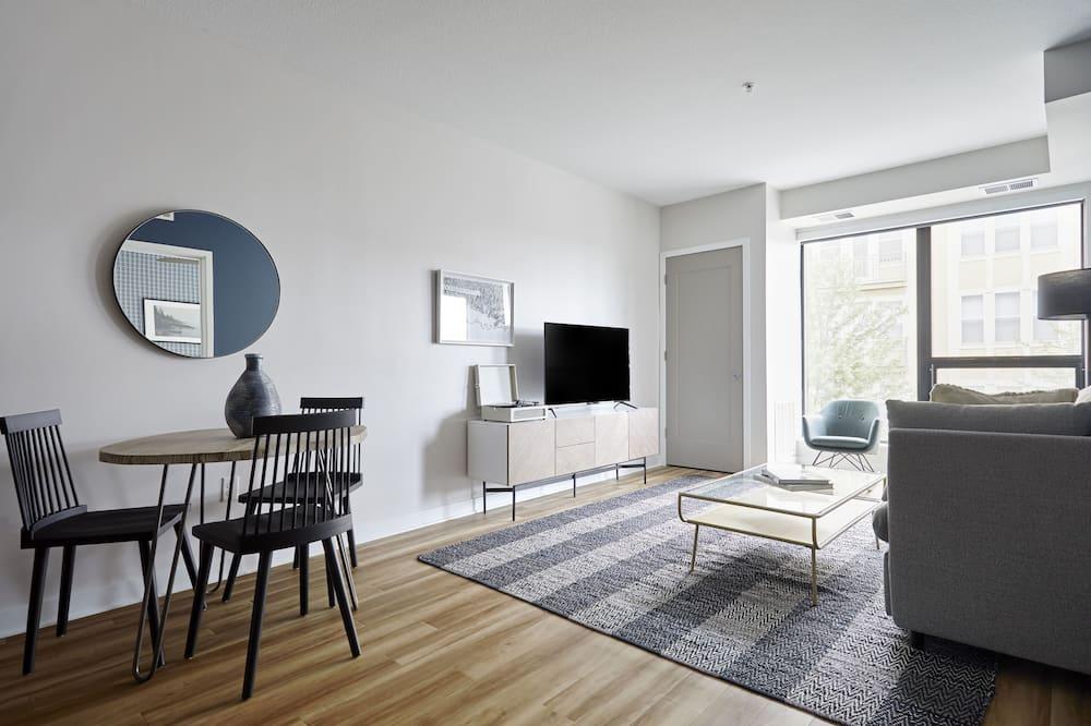 Premier suite, 1 spavaća soba, balkon - Dnevna soba