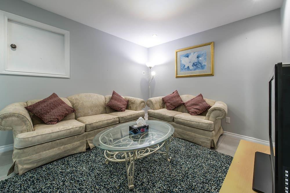 Maison, 3 chambres, coin cuisine - Coin séjour