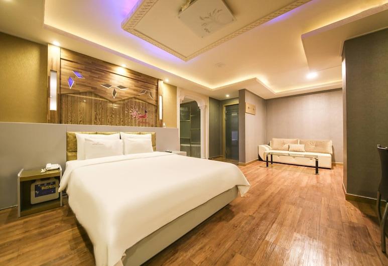 Bobos Hotel, Cheonan, Camera Royal con 2 letti singoli, Camera
