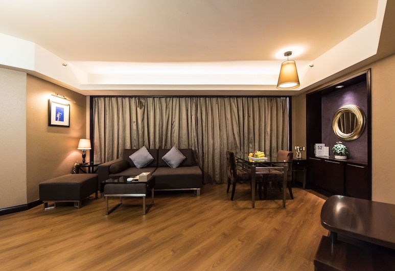 Times Superior Business Apartment (Shenzhen Danfeng Bailu Branch), Shenzhen, Two-Bedroom Suite with Air Cleaner, Guest Room