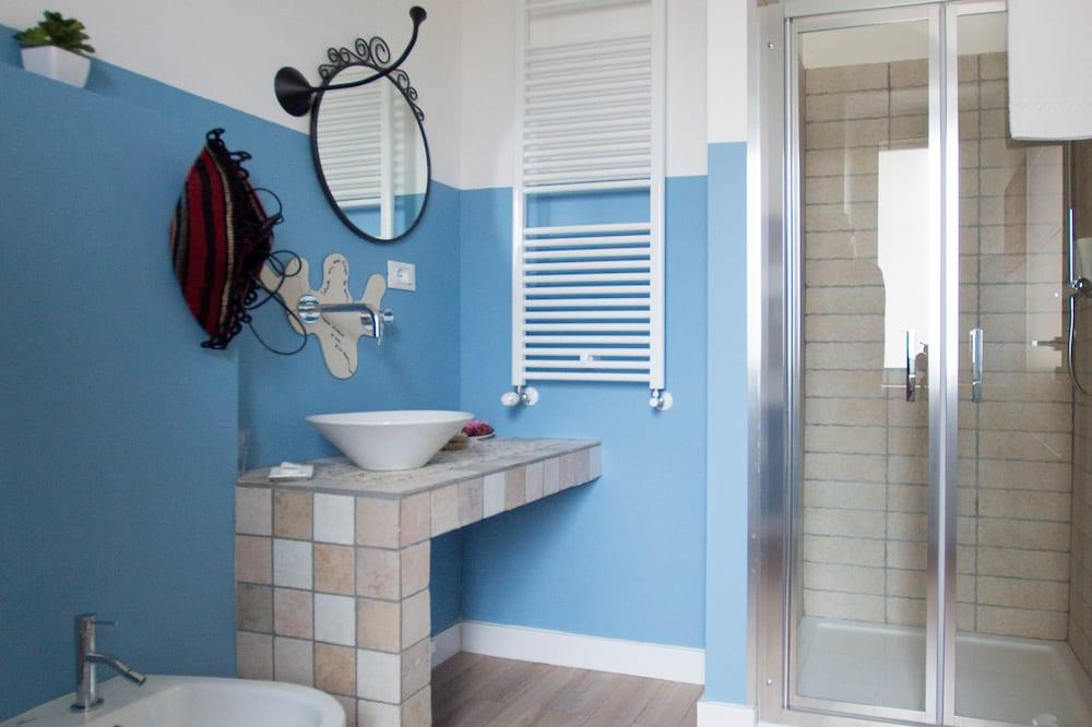 Design kamer, 1 twee- of 2 eenpersoonsbedden - Badkamer