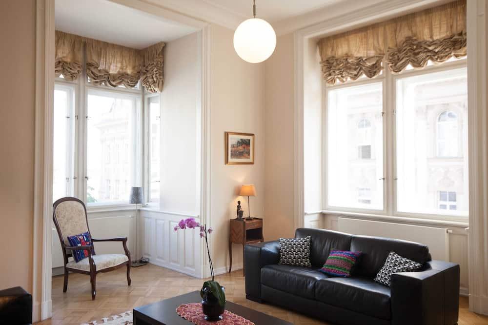 Apartment, Multiple Beds (Balbinova 32) - Living Room