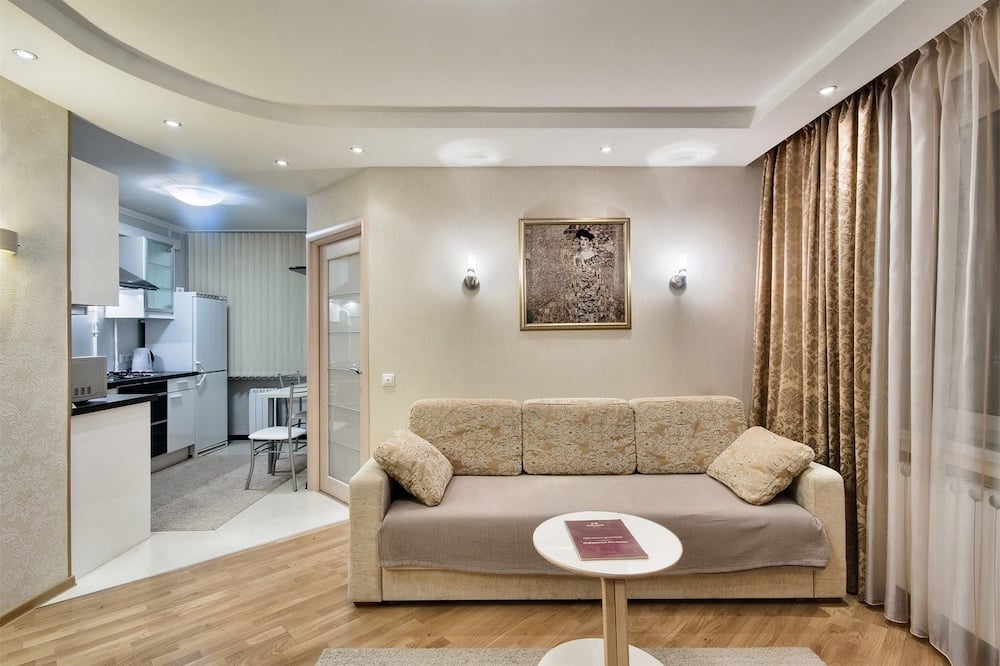 Apartamentai, 1 miegamasis - Svetainė