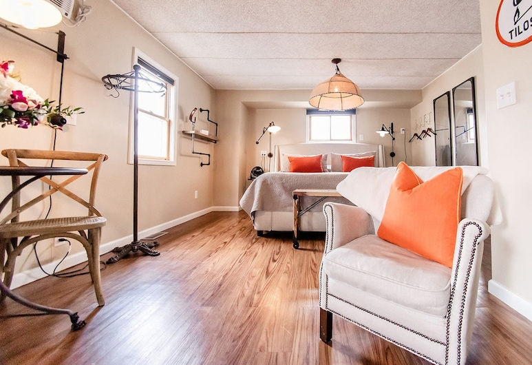 The Loft, Granville, Superior Apartment, Private Bathroom, City View (The Loft), Guest Room