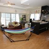 標準公寓, 2 間臥室, 海景 - 客廳