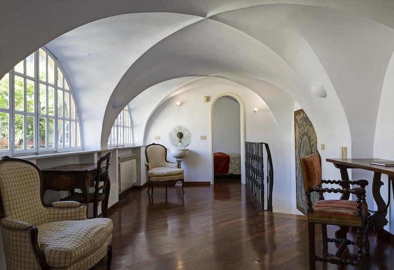 優雅風格馮塔納瑪羅瑟酒店 - 精彩意大利, 吉那歐, 公寓, 2 間臥室, 客廳