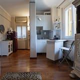 อพาร์ทเมนท์, 1 ห้องนอน, วิวเมือง - พื้นที่นั่งเล่น