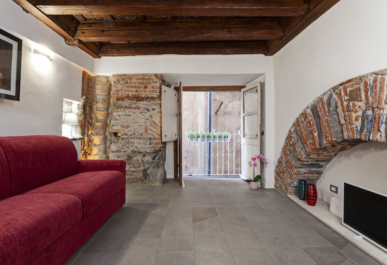 Wood and Stone Apartment in the historical center, Genova, Apartman, 1 spavaća soba, Dnevni boravak
