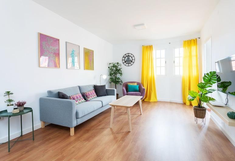 HomeLike Design Apart Santa Cruz Center & Wifi, Santa Cruz de Tenerife, Lejlighed - 3 soveværelser, Stue