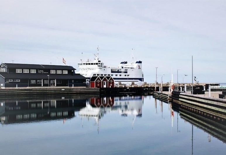 Hotel Havnebakken, Læsø, Herbergi fyrir tvo, Útsýni yfir vatnið