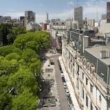 Двухместный номер «Сити» с 1 двуспальной кроватью - Вид на город