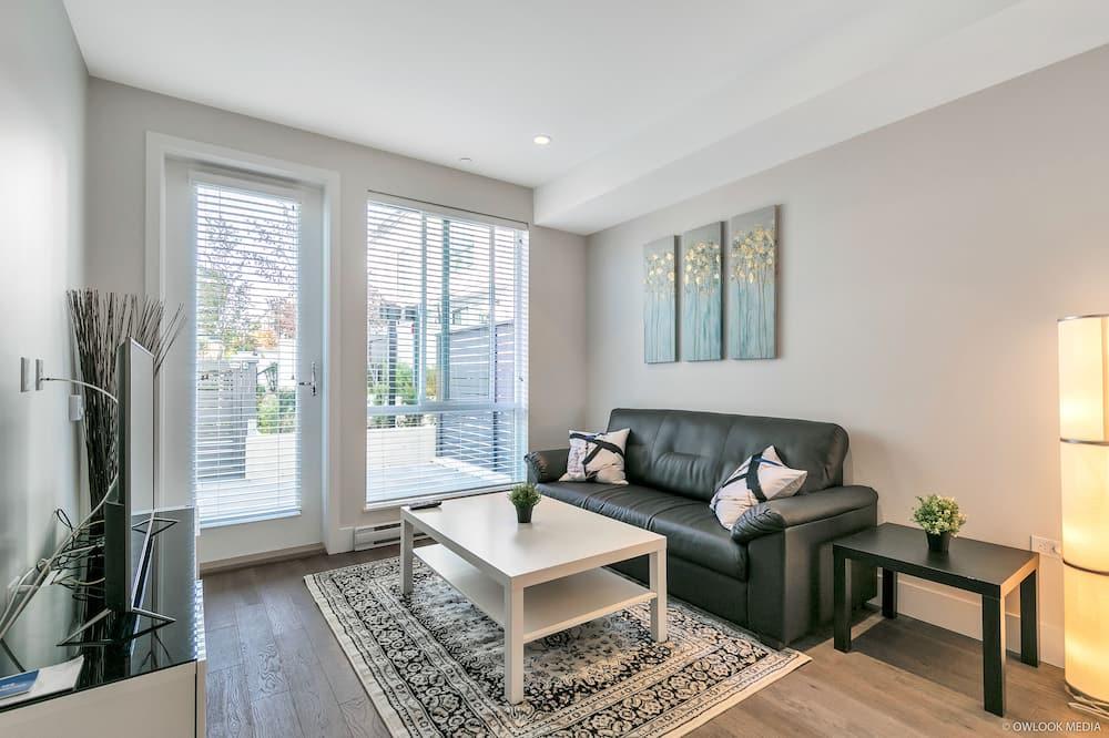 Apartmán, 3 ložnice, kuchyně - Obývací prostor
