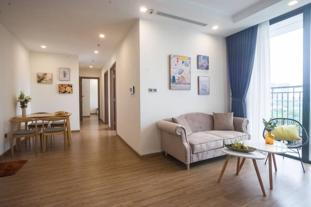 Семейные апартаменты - Зона гостиной