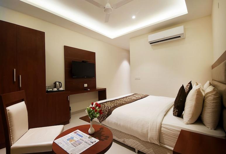 Hotel Z Suite, New Delhi, Deluxe dvokrevetna soba, Soba za goste