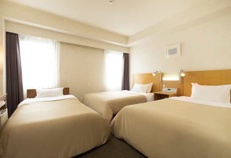 Valie Hotel Hiroshima, Hiroshima, Moderate Twin Room + extra bed, Non Smoking, Guest Room