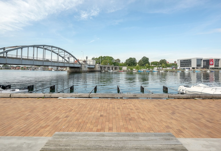 Luxury City Harbour apartment 2 bedroom, Sønderborg, View from property