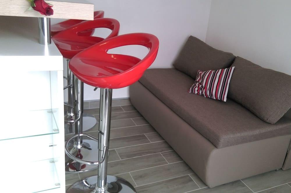 Standard Apartment, 1 Bedroom, Sea View - Living Area