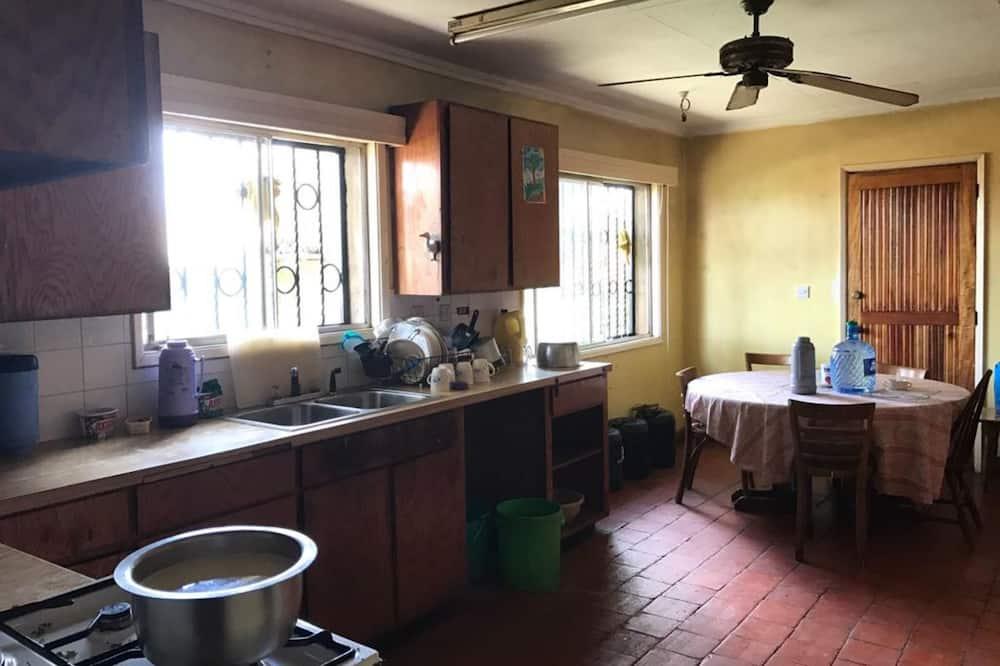 Dobbeltværelse - Fælles køkken