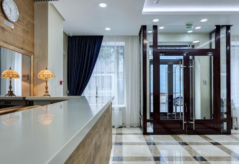 Hotel on Smirnovskaya 25, Moskova, Sisäänkäynti