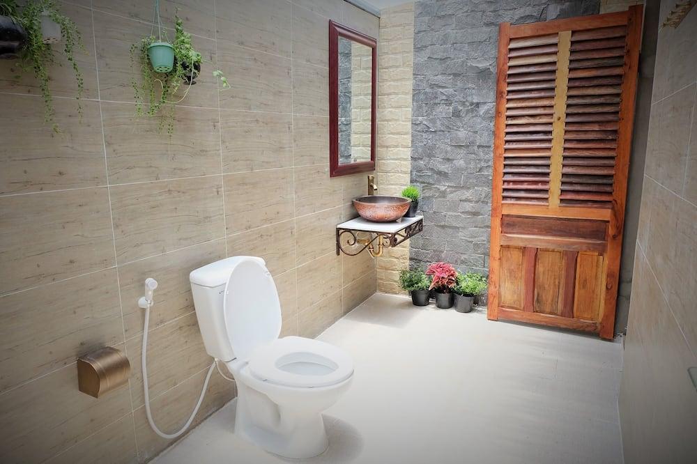 방갈로, 호수 전망, 1층 (Water Front, Fan) - 욕실