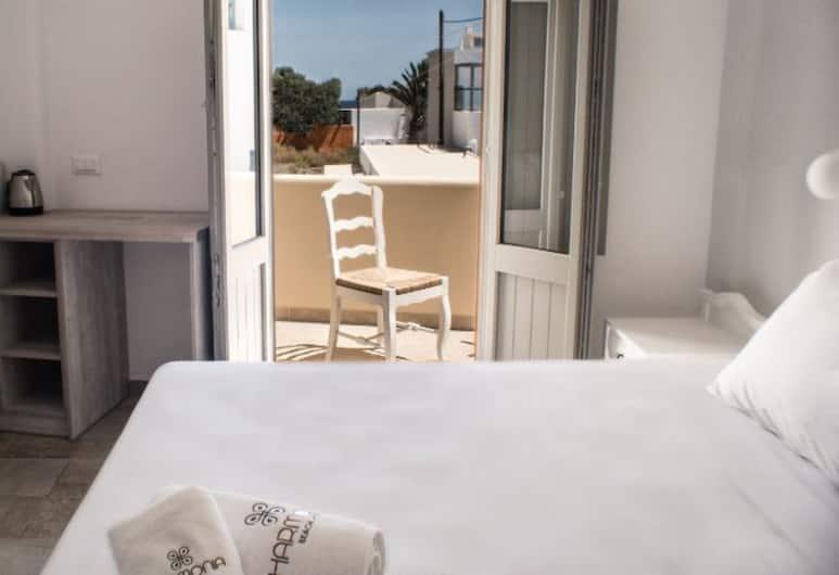 Harmonia Beach Hotel, Santorini, Standard Double Room, Guest Room