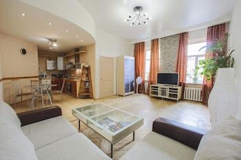 Selline näeb välja Apartment on Marata 35, Peterburi