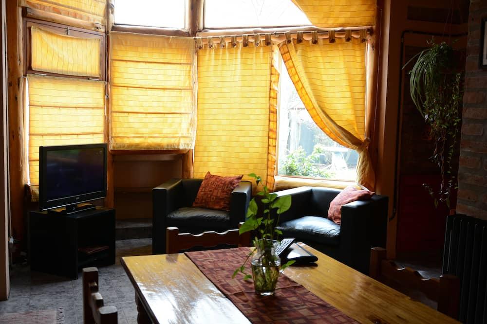 Cabaña tradicional - Sala de estar