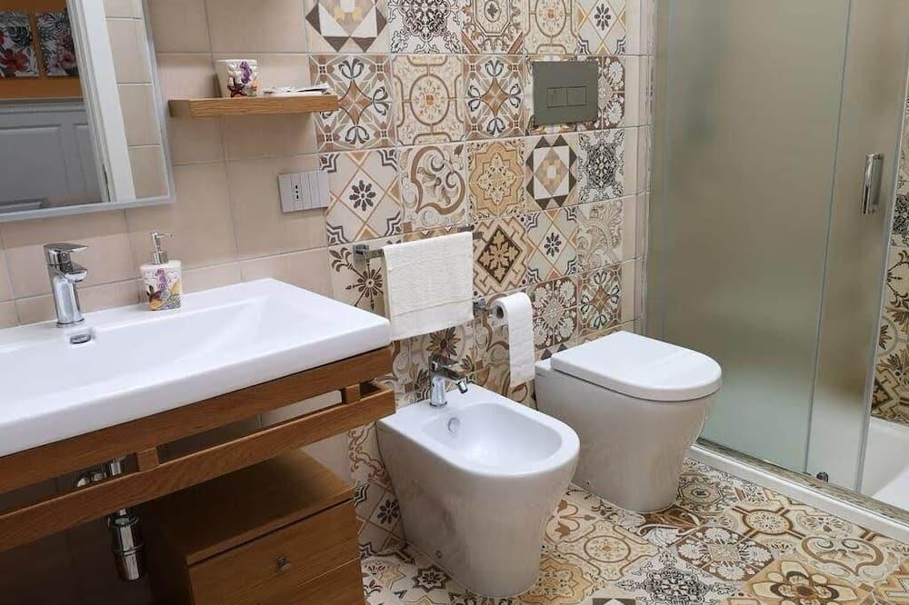 Superior-Doppel- oder -Zweibettzimmer (Arancione) - Badezimmer