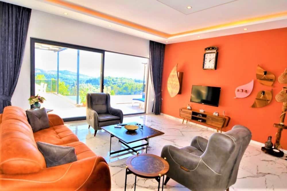 別墅, 2 間臥室, 山谷景觀 - 客廳
