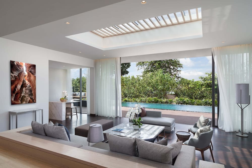 Three Bedroom Beach Residence - Living Area