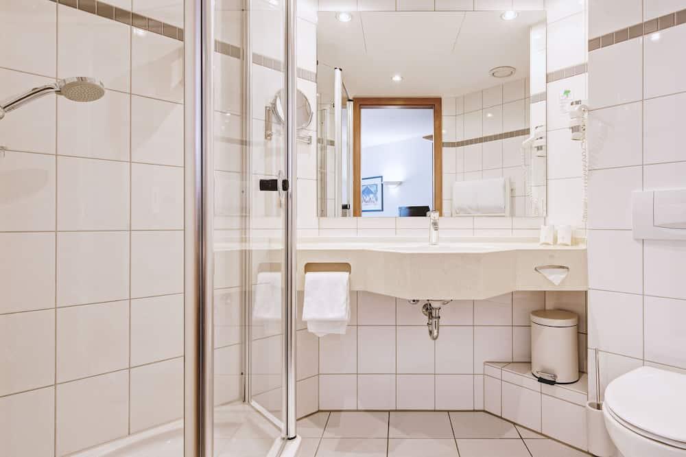 Standardenkeltværelse - ryger - Badeværelse