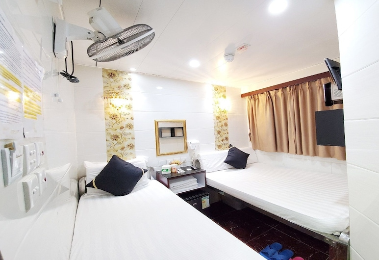 New Hong Kong Guest House, Kowloon, Triple Room, Guest Room
