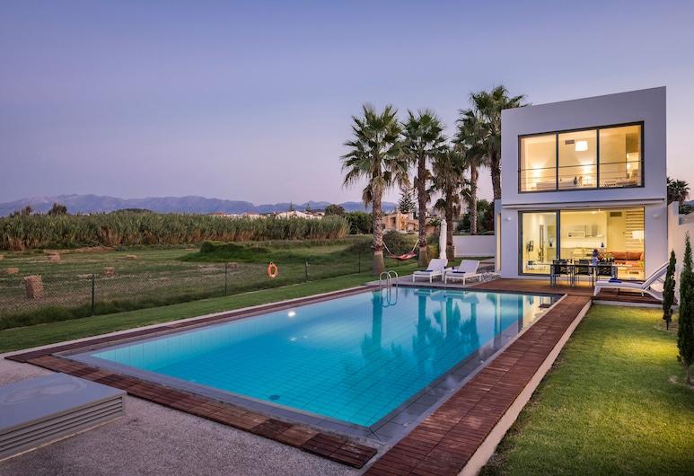 Blue Sea Luxury Villa Maleme, Platanias, Exterior