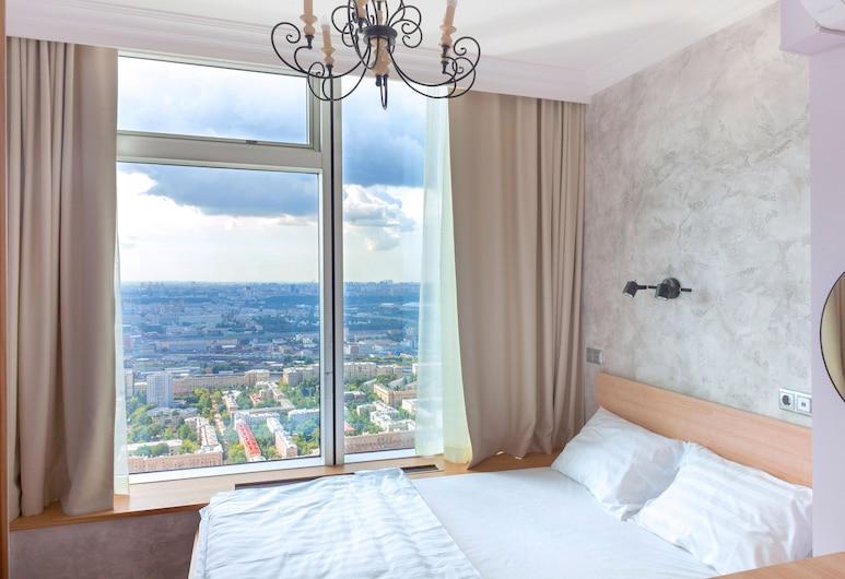 Like Hostel City, Moskwa, Pokój dwuosobowy typu Panoramic, Pokój