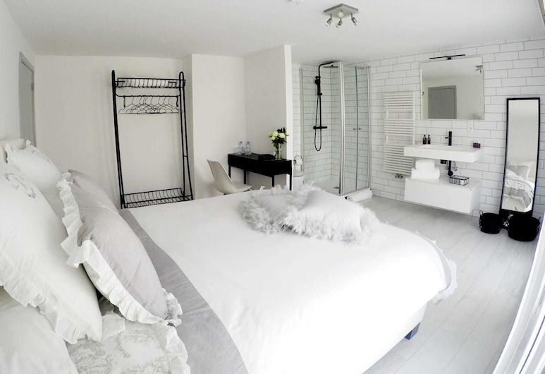 Jardin du Marais, Tournai, Double Room (A - Orchidée), Guest Room