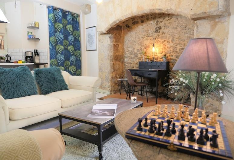 Le Jardin Fenelon, Sarlat-la-Canéda, Lounge