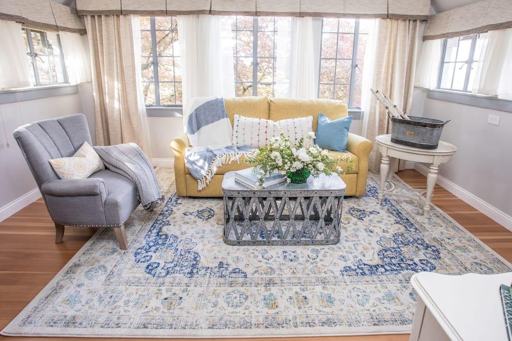 Suite Luxury, 1 letto king (Japanese Maple Suite) - Area soggiorno