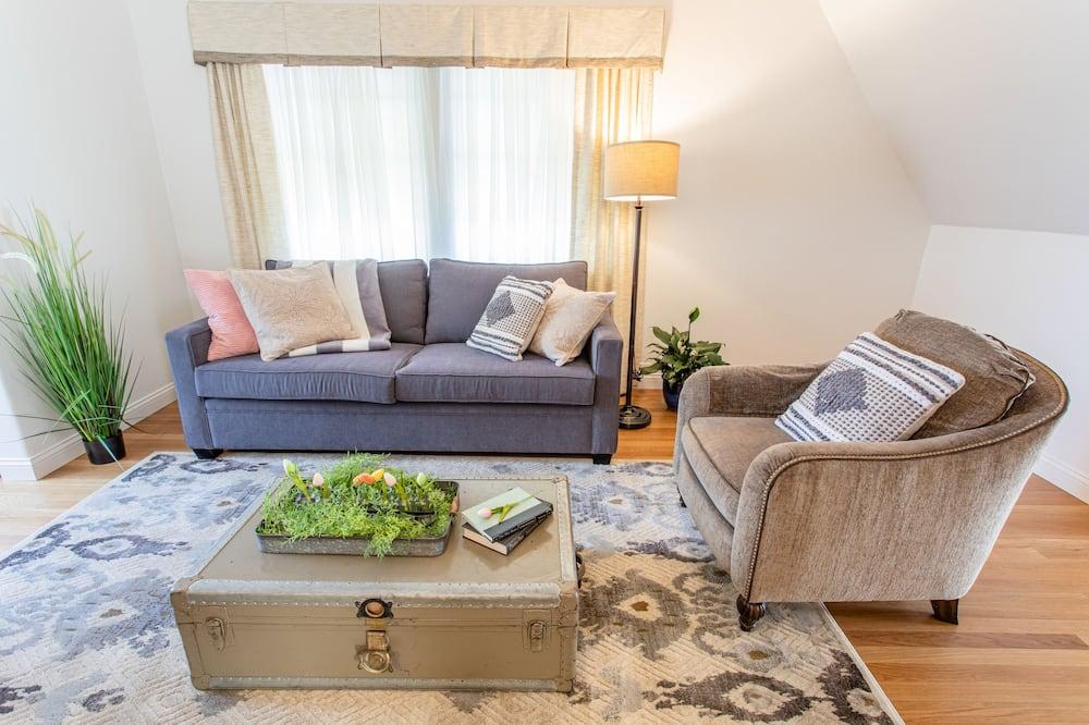 Suite Luxury, 1 letto king (Sequoia Suite) - Soggiorno