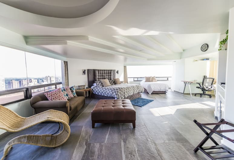 Air Lux, Mexico, Penthouse Élite, Chambre