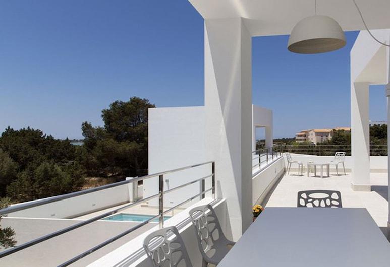 Apartaments Proa Es Pujols - Adults Only, Formentera, Külaliskorter, 2 magamistoaga, rõduga, Terrass