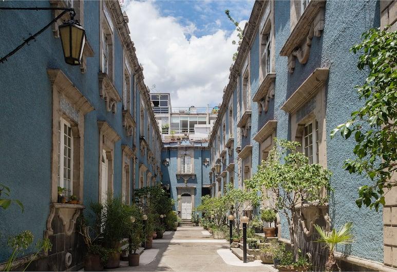羅馬道地風格酒店 - 藍色哥多華, 墨西哥城