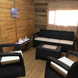 Royal Cabin, 1 Double Bed, Kitchenette - Living Area