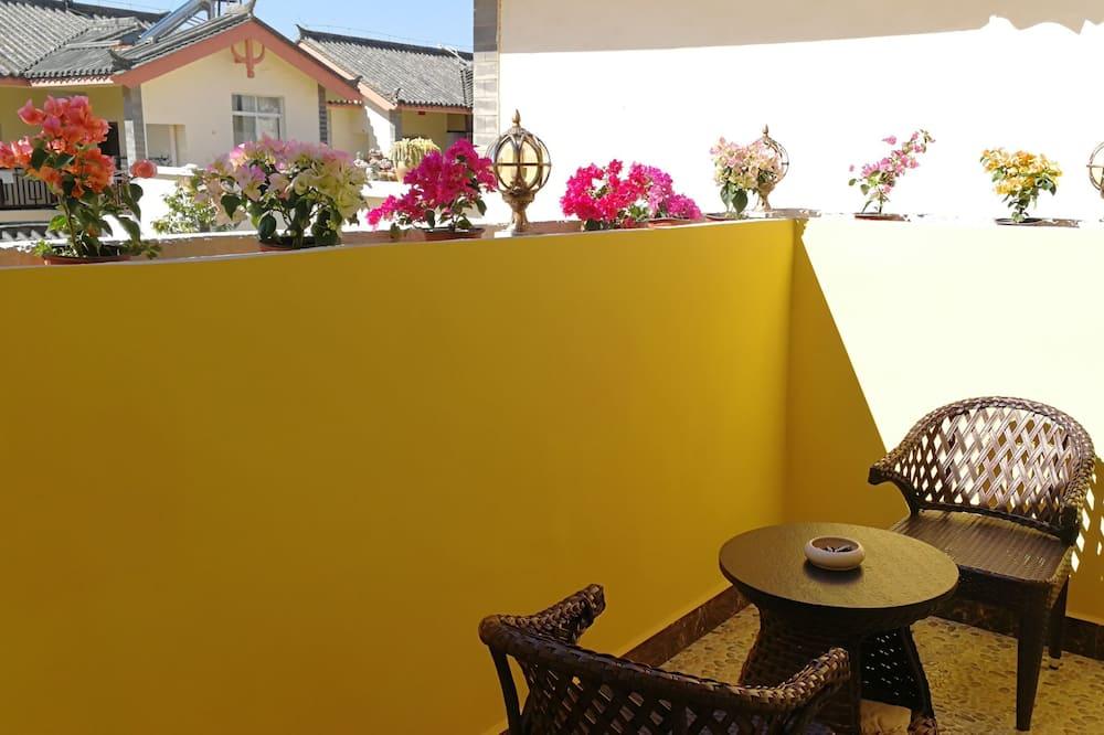 豪华家庭套房 - 阳台